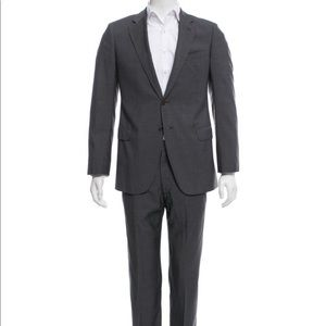 Armani Colezioni grey pinstripe suit 40R